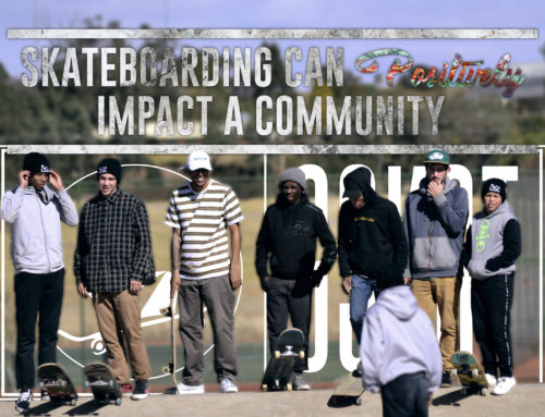 Skateboarding can positively impact a community